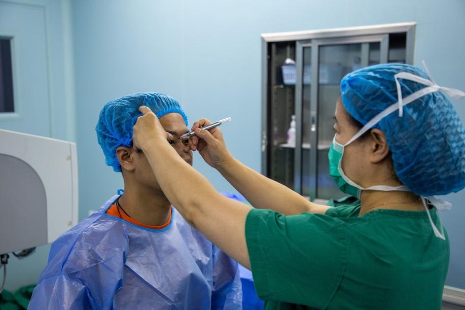 术前检查、消毒等准备措施